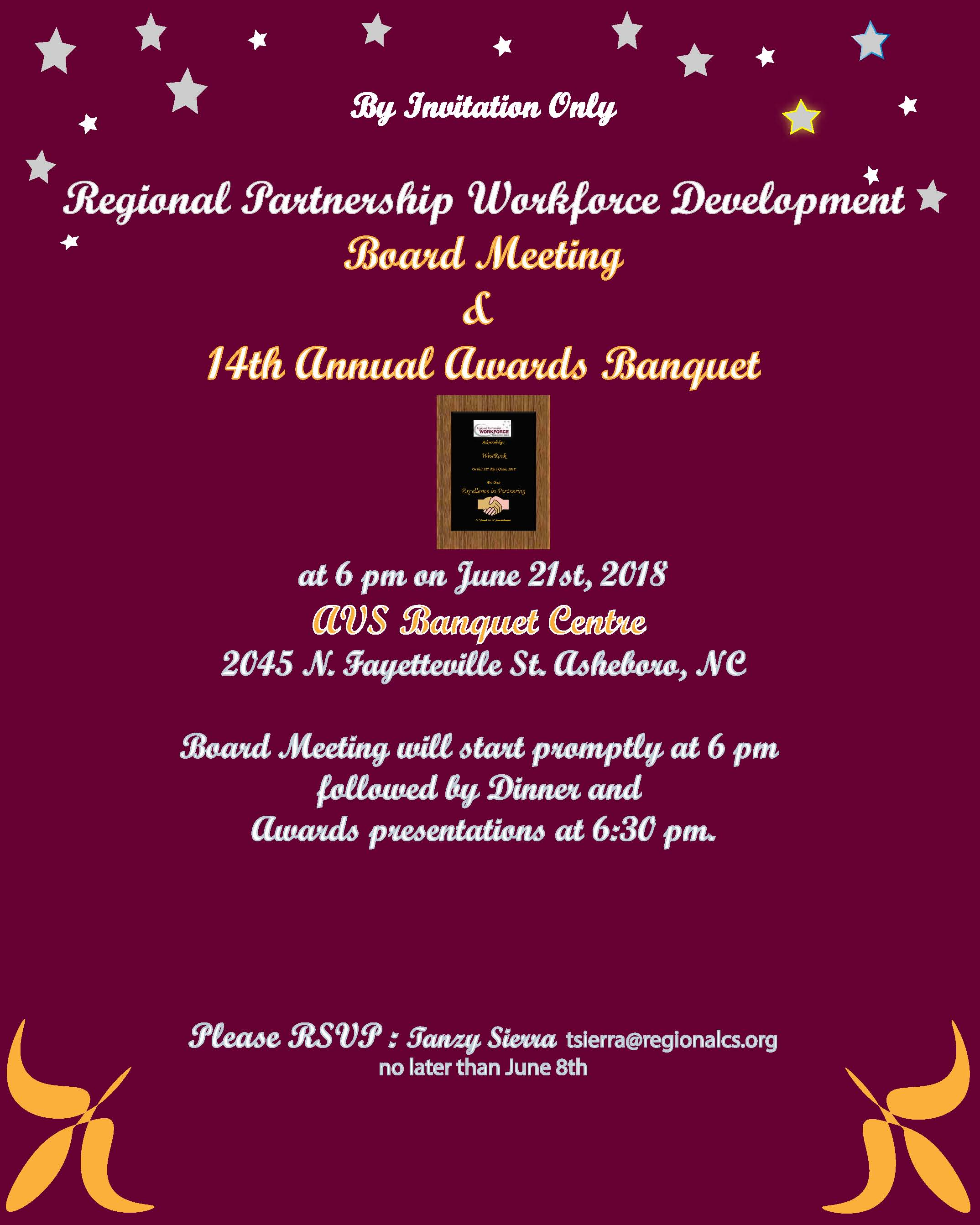 awards banquet flyer regional partnership wdbregional partnership wdb